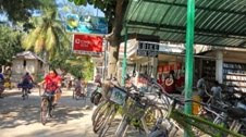 Penyewaan sepeda di Gili Trawangan