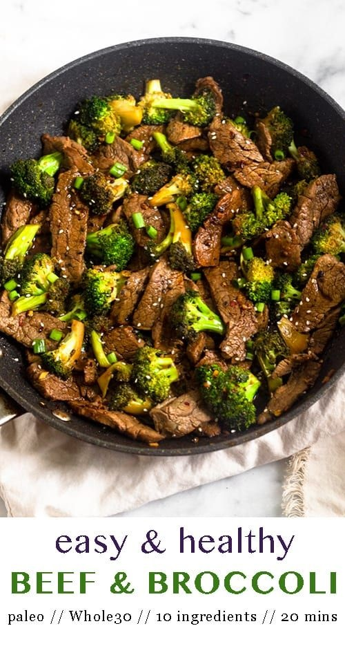Paleo Beef & Broccoli Stir Fry