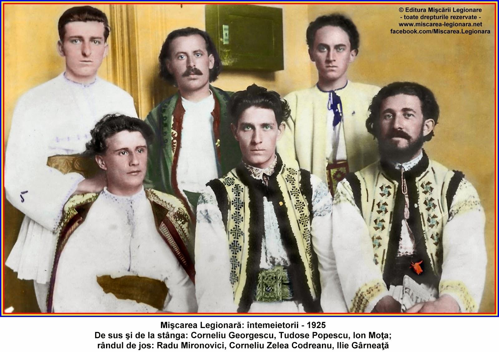 """Miscarea Legionara: De """"Ziua"""" Legiunii - 24 iunie 1927"""