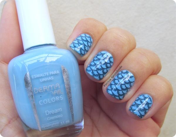 Esmalte Azul Carimbada 3 Free