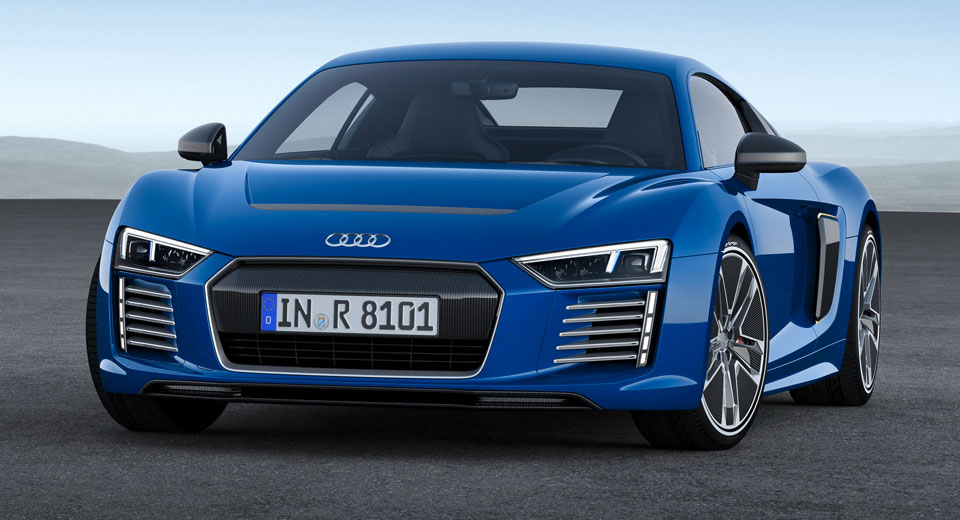 The Audi R8 E-Tron Is Dead