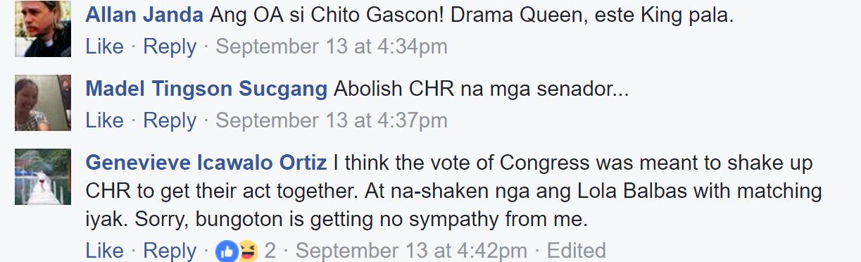 """""""OA Ha""""- Mensahe ng Isang Abogada sa mga Nagsasabing ang CHR ay Inaapi!"""