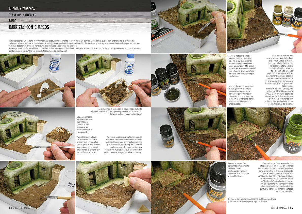 how to build a diorama