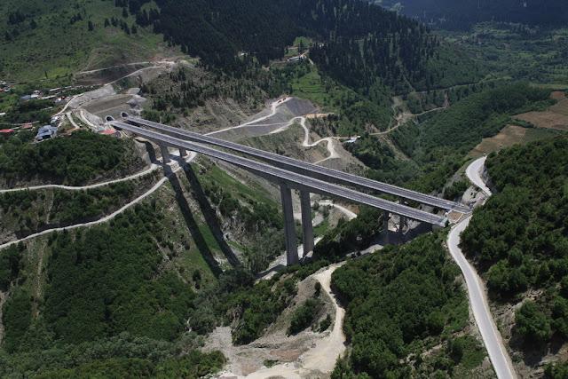 Γιάννενα: Ο σεισμός δεν επηρέασε τα έργα στην Εγνατία Οδό