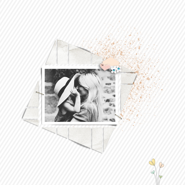 seventeen 3 © sylvia • sro 2018 • seventeen 3 digital scrapbook template by léa france