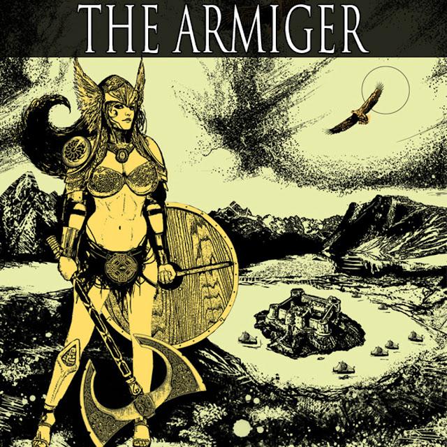 female warrior artwork