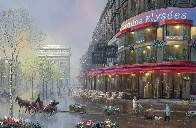 Kaupunki tapetti Pariisi Valokuvatapetti Paris maisematapetti