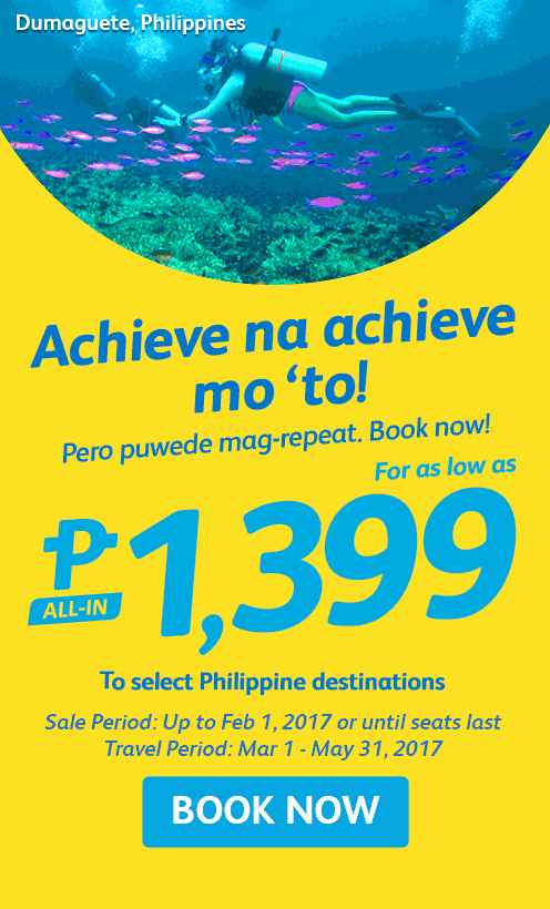 Cebu Pacific Promo 2017 Domestic