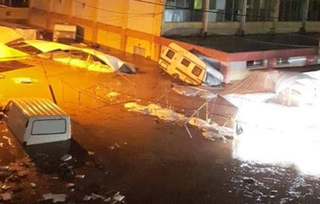 Σάρωσαν την Εύβοια οι Καταιγίδες, «πνίγηκε» το Μαντούδι