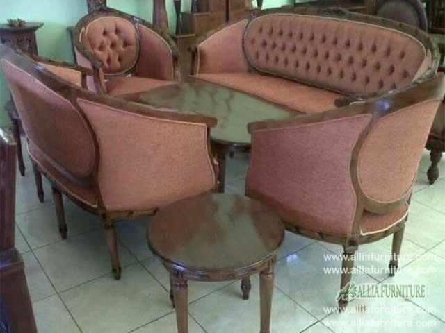 sofa kursi tamu set ukiran georgia