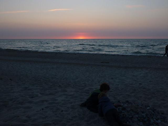 Gastbeitrag: Meine drei liebsten Orte an der Ostsee. Tipps und Empfehlungen für Ausfugs- und Urlaubsziele. Hier: Sonnenuntergang Rerik