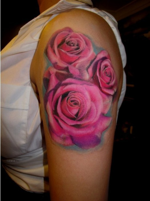 Rose Tattoos Flower: Ezee Beauty: Exotic Rose Tattoos