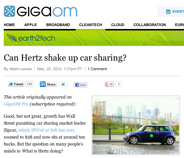 Cancel Zipcar Membership >> Carsharing Us Membership Fees The Competitive Edge