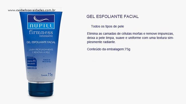 Gel Esfoliante Facial Nupill