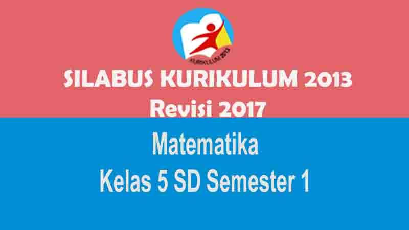 Kumpulan Perangkat Pembelajaran Matematika Kelas 5 Sd Semester 1 Kurikulum 2013 Revisi 2017