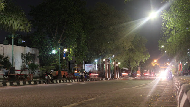 Ruas jalan Ngarsopuro