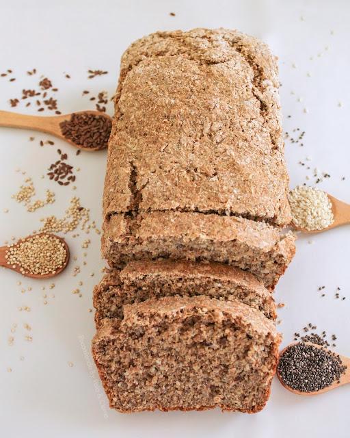 Pan integral con Quinoa - Recomiendo By Pola & Cleme