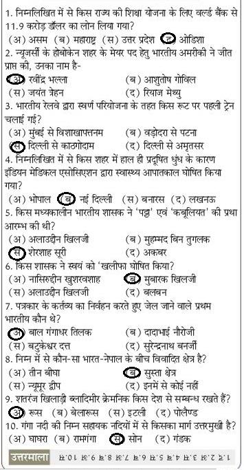 Samanya Gyan 2020 GK in hindi : सामान्य ज्ञान के प्रश्न देखें 1