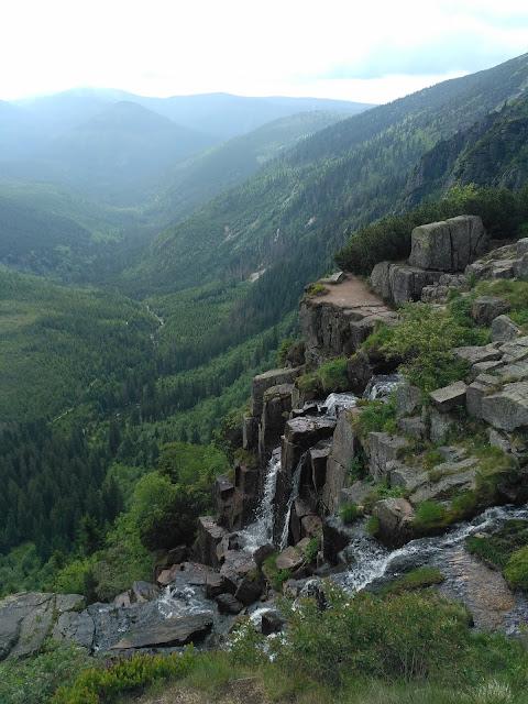 Wodospad Pancavsky, Harrachov, Czechy, Sudety