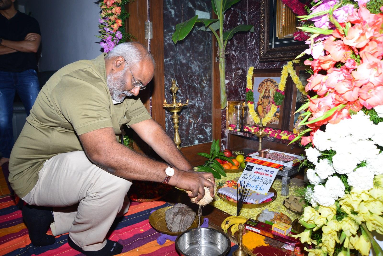 Chaitu Lavanya New Telugu movie Launch-HQ-Photo-11