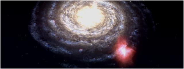 Nuvem de gás vai colidir com a nossa Galáxia