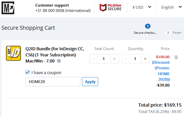Markzware Q2ID Best Coupon Promo Discount