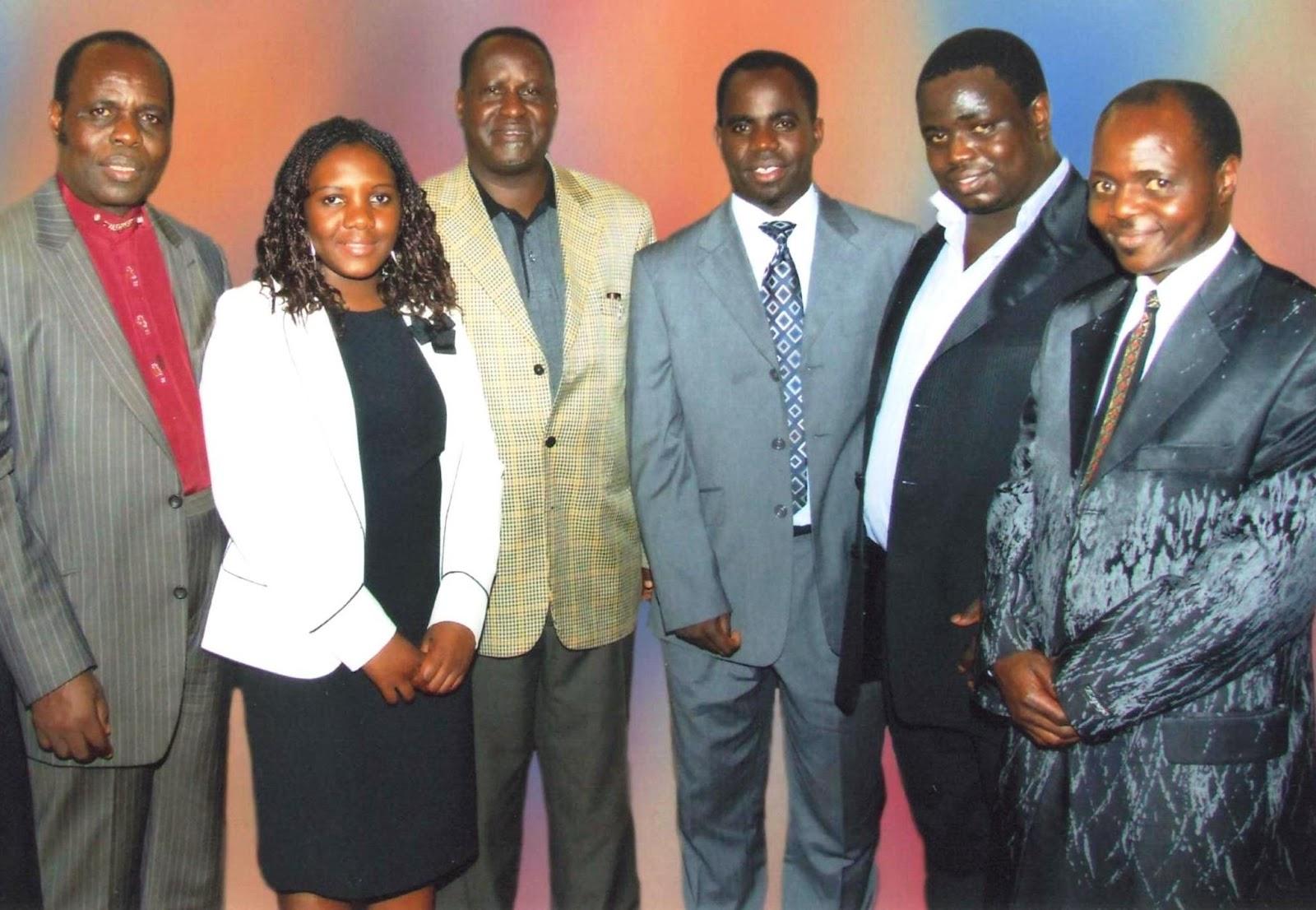 Gilbert Deya  Raila Odinga