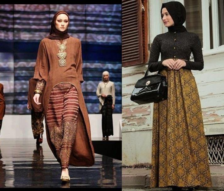 Tips Memilih Gamis Batik Modern yang Kekinian untuk Lebaran Tahun Ini