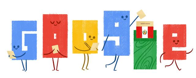 Perú Elections 2016 (Ballotage) - Google Doodle