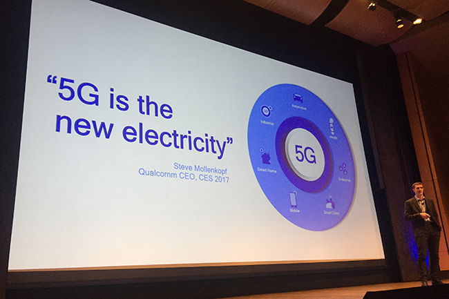 Qualcomm and Ericsson complete 5G NR Sub-6 GHz call ~ Converge