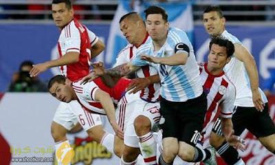 المنتخب الارجنتيني والمنتخب الاوروجوانى فى مواجهة كبيرة فى السابعه من تصفيات كأس العالم 2018 قارة امريكا الجنوبية