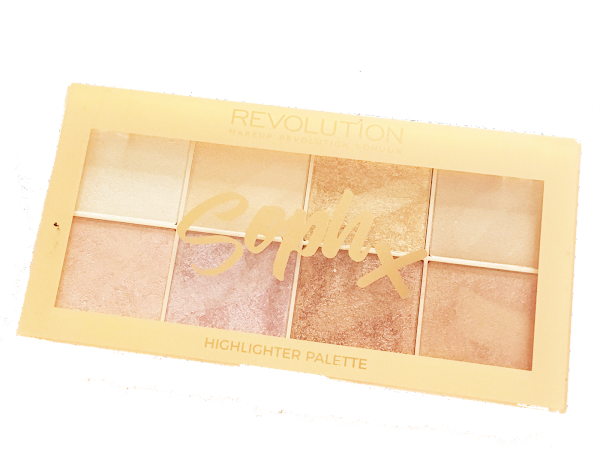 Soph X Revolution Highlighter Palette Review, Photos and Swatches