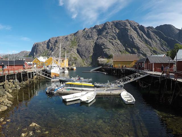 viaje al norte, viaje a las islas lofoten