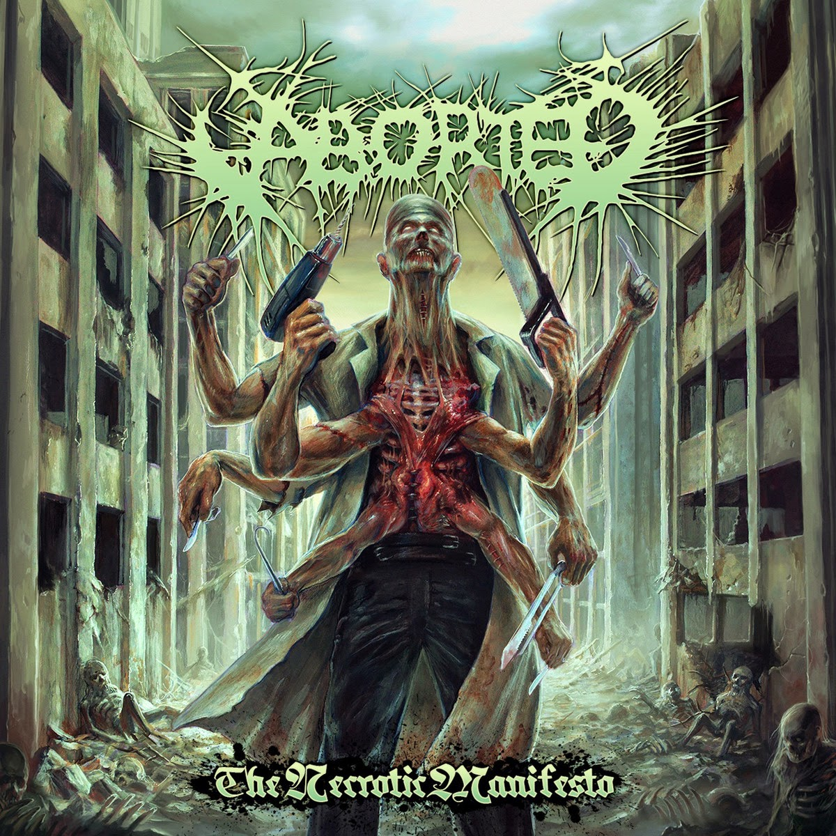 Aborted - The Necrotic Manifesto (2014)