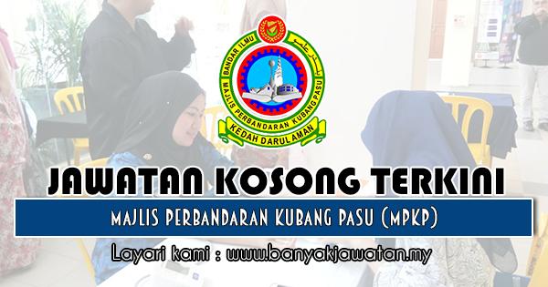 Jawatan Kosong 2019 di Majlis Perbandaran Kubang Pasu (MPKP)