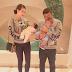 Eina Azman teruja sambut aidilfitri bersama anak kembar