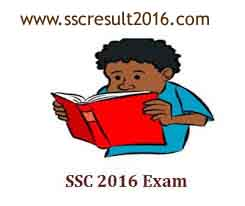 SSC Exam Routine 2017