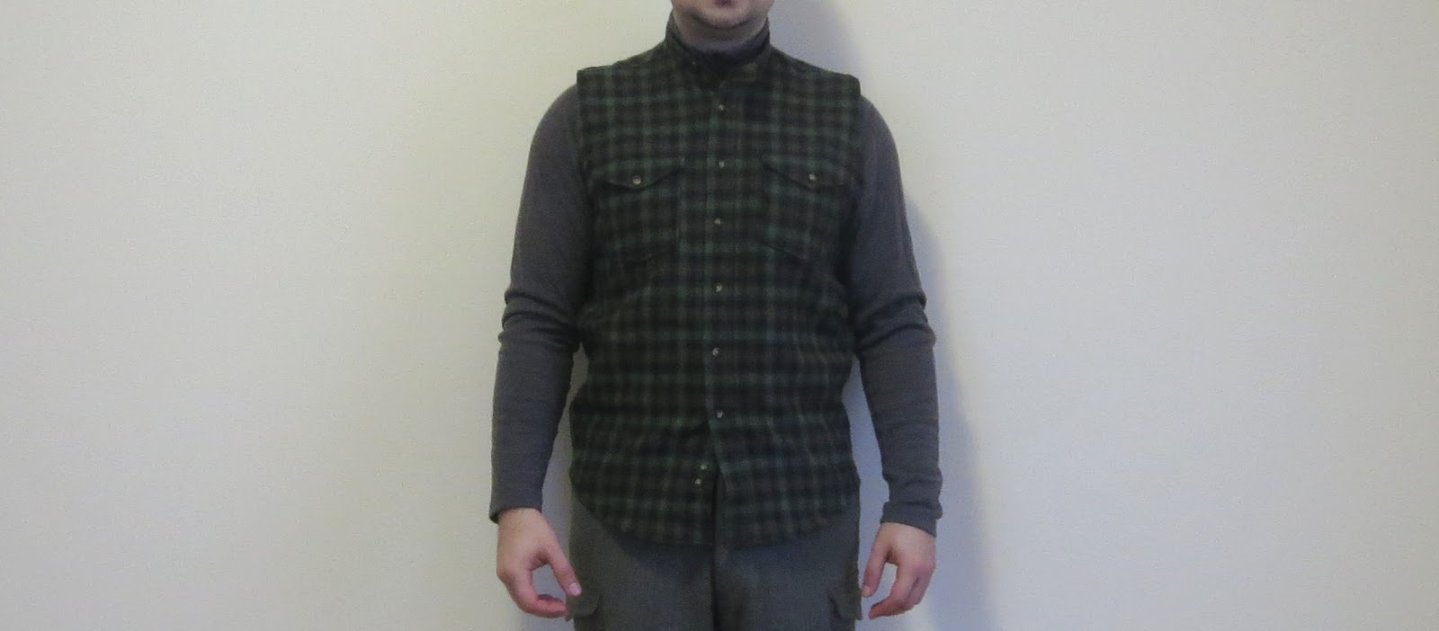 9116ccfb2402 The main one is a crew neck Woolrich 100% wool sweater. I have come to  prefer sweaters to other forms of insulation like jackets or blanket ...