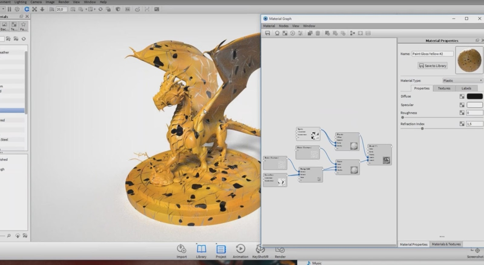 Advanced Material control in KeyShot 6 | CG TUTORIAL