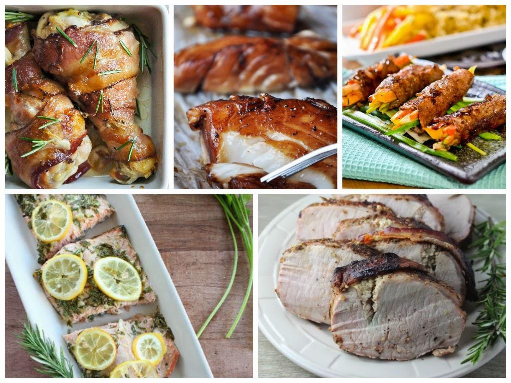 Рецепты вторых блюд к Новому Году
