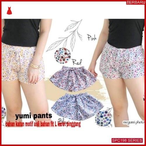SPC198Y49 Yumi Pants Katun Bhn Celana Wanita | BMGShop