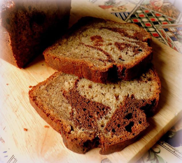Marbled Banana Bread
