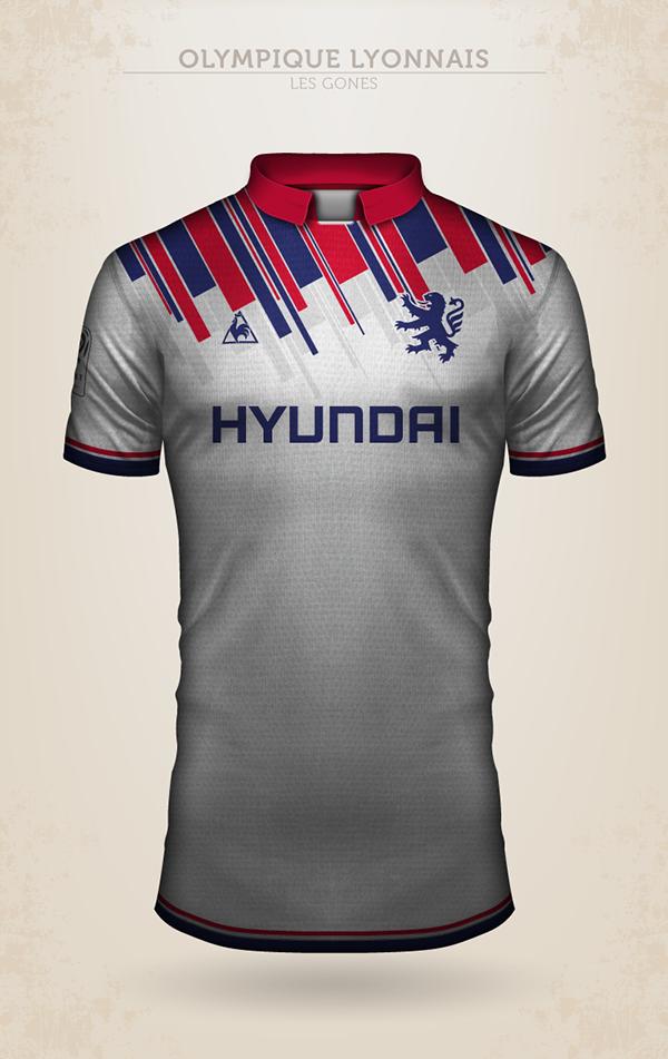 f60ddc1515614 ... clubes que disputam o Campeonato Francês de futebol. Veja abaixo as  criações de camisas para o Bordeaux