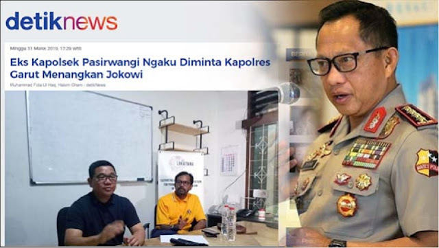 Soal Kapolsek Diarahkan Dukung Jokowi, BPN: Kami Ingatkan Pak Tito Jangan Rusak Polri