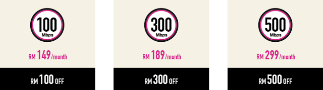 Time Fibre Internet RM500 Discount Promo
