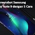 Cara Screenshot Samsung Galaxy Note 9 dengan 5 Cara