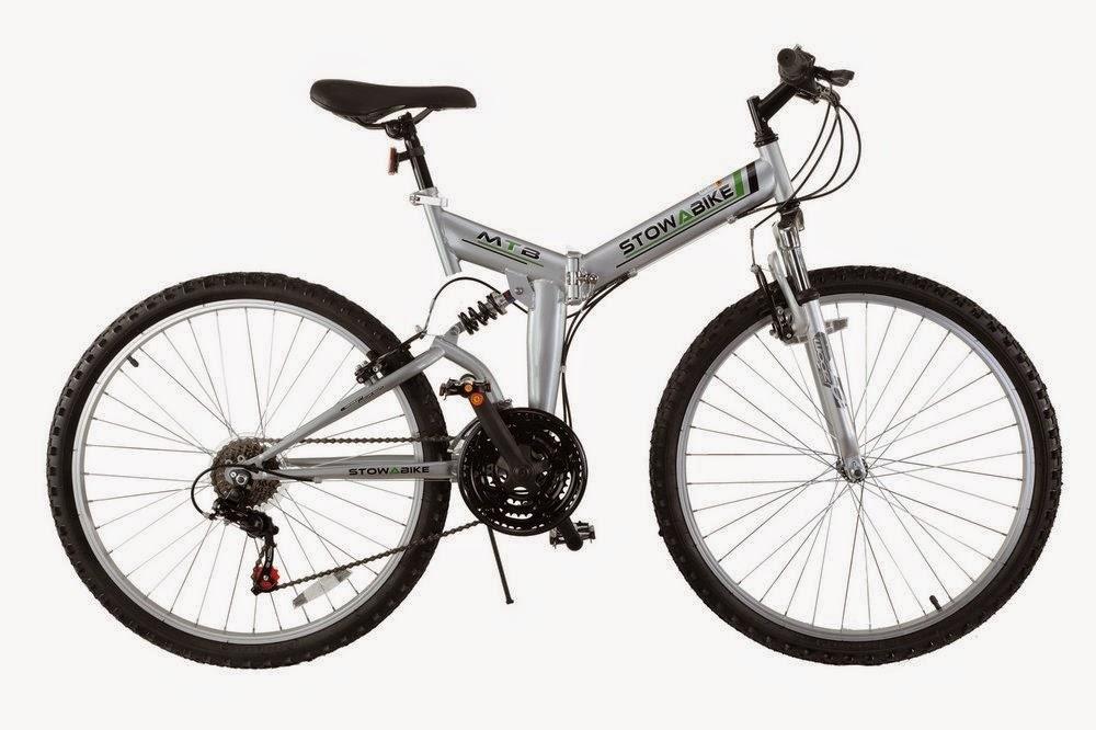 "Exercise Bike Zone: Stowabike 26"" Folding Dual Suspension ..."