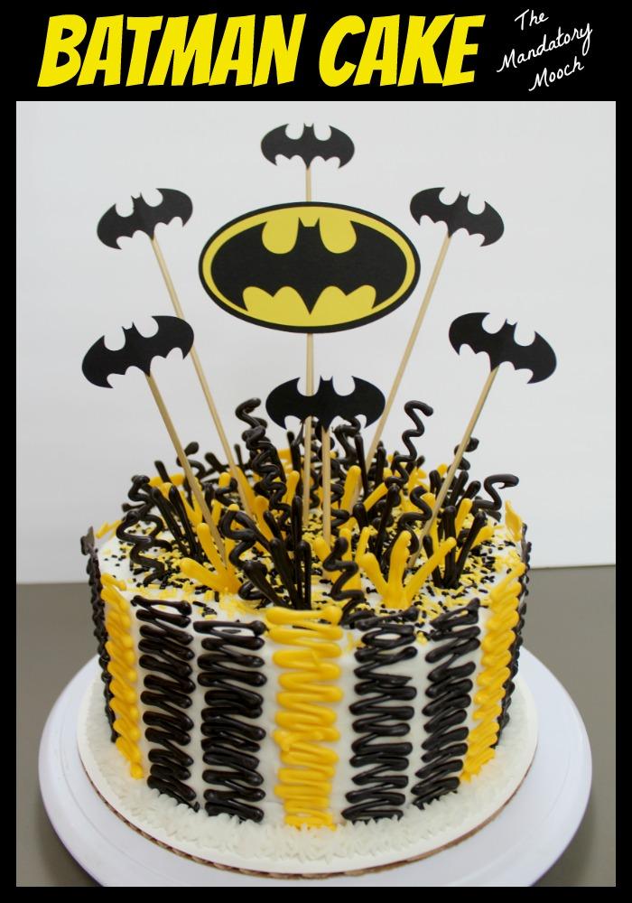 The Mandatory Mooch Batman Cake
