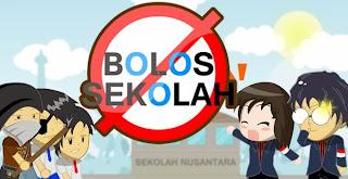 Dilarang Bolos Sekolah