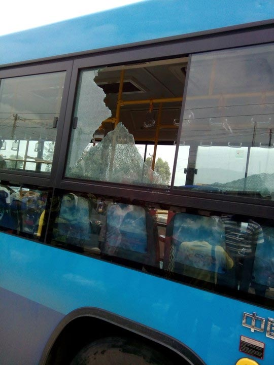 Mob vandalises 20 BRT buses in Lagos after a hawker was crushed to death